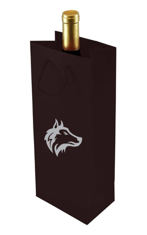 Euro Wine Tote - Gloss Laminated
