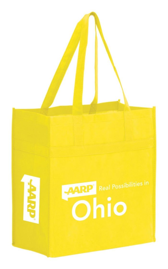 Non Woven Market Tote with Reinforced Band