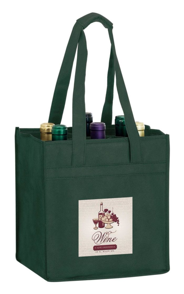 EnduraChrome™ 6 Bottle Wine Tote